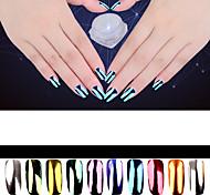 2g Perfect Mirror Powder Effect Glitter Dust Magic Shimmer Nail Art Powder Decoration Sequins Chrome Pigment Glitters
