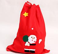Санта-Клаус рюкзак рождественские подарки подарочные пакеты рождественские украшения 52 * 70 см