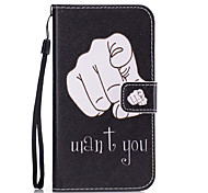 For Samsung Galaxy S7 Edge S7 S6 Edge S6 S5 S4 S3 Finger Pattern PU Leather Full Body Case with Stand and Card Slot