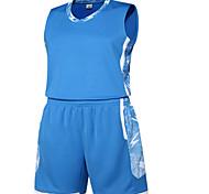Муж. Без рукавов Спорт в свободное время Бадминтон Баскетбол Бег Наборы одежды Багги Шорты Быстровысыхающий Дышащий