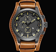 Men's Sport Watch Military Watch Dress Watch Fashion Watch Wrist watch Quartz Japanese Quartz Calendar Water Resistant / Water Proof Punk