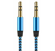 abordables -Audio jack de 3.5mm Audio jack de 3.5mm to Audio jack de 3.5mm 1,0 m (3 pies)