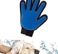 abordables -Gato Perro Limpieza Baños Impermeable Transpirable Casual/Diario Azul