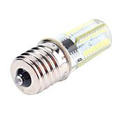 cheap -5W 450lm BA15D E17 E12 LED Corn Lights T 80 LED Beads SMD 3014 Dimmable Decorative Warm White Cold White 110-130V 220-240V