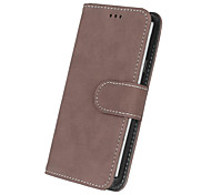 cheap -For Samsung Galaxy A7(2016) Luxury PU Leather Cover Case Wallet Cell Phone Cases Frosted Back Cover Card Holder Bags  A3 A5 A5(2016) A3(2016)