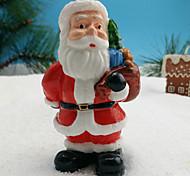 Недорогие -1 шт Санта-Клаус дизайн свечи украшения для дома рождественский орнамент
