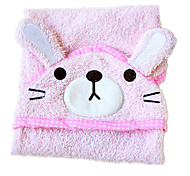 Pink Cotton Cleaning Dogs Bath Towel 1ps