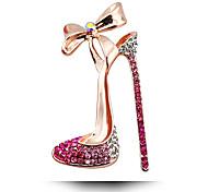 manera de la aleación / rhinestone zapatos de tacón alto sobrerregulación partido broches del perno de las mujeres / diario / de la boda