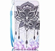 cheap -Eagle Campanula Painting PU Phone Case for apple iTouch 5 6 iPod Cases/Covers