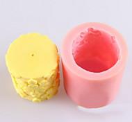 Недорогие -цветок в форме свечи плесень, мыло формы Mooncake формы помады торт шоколадный силиконовые формы, формы для выпечки украшение инструменты