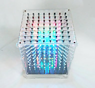 cheap -The Crab Kingdom Model Electronic Components Glow Light Cube Cube Electronic Components Technology IT Creativity