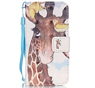 Birdie Deer 3D Painting PU Phone Case for apple iTouch 5 6 iPod Cases/Covers