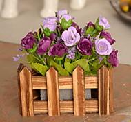 1 1 Филиал Пластик / Другое Розы / Pастений / Другое Букеты на стол Искусственные Цветы
