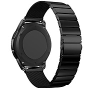 cheap -Watch Band for Gear S3 Frontier Gear S3 Classic Samsung Galaxy Sport Band Stainless Steel Wrist Strap