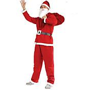 Прогрев новогодняя распродажа! Рождественский костюм Санта-Клауса пять комплектов нетканых одежды мужской одежды партия производительности