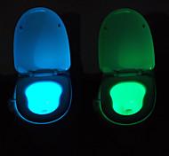 Недорогие -youoklight движение активируется датчик туалет ночью свет, 8 цветов цикла, пописать счастливым