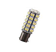Недорогие -10x теплый белый +1156 BA15S колесах прицепа светодиодные фонари ламп 68 SMD обратный сигнал поворота
