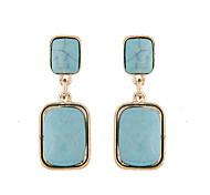 Drop Earrings Resin Alloy Fashion Blue Jewelry Daily Casual 1 pair