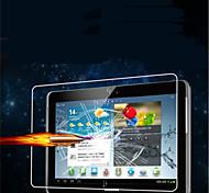 Protector de pantalla flim vidrio templado para samsung galaxy tab 2 10.1 P5100 de la tableta