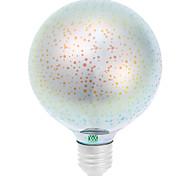 Недорогие -E26/E27 Круглые LED лампы 48 светодиоды COB Декоративная Красный Синий Желтый Зеленый Фиолетовый Розовый Янтарный Оранжевый 400-500lm