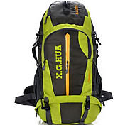 60 L Hiking & Backpacking Pack Cycling Backpack Backpack Climbing Leisure Sports Cycling/Bike Camping & Hiking Waterproof Breathable