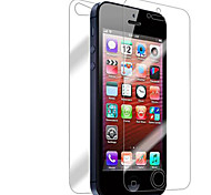 [10-Pack] Front and Back Retina Screen Protector for iPhone 5/5S