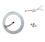 12W White 6500K 5730 X 24 SMD LED LED Ceiling Light Panels with Power Magnet