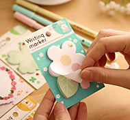 Cake Flower Self-stick Note(Random Color)