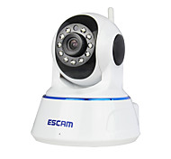 escam® qf002 720p 1.0 mp ip camera pt indoor com detecção de movimento durante o dia acesso remoto ir-cut audio 32g tf card