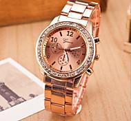 Women's Fashion Leisure Quartz Strap Watch Steel Belt Wrist Watch(Assorted Colors) Cool Watches Unique Watches