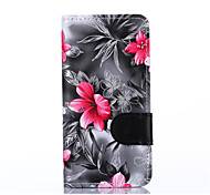 For Samsung Galaxy Grand G530H G850F Case Cover Flowers PU Leather Mobile Phone Holster
