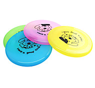 cheap -Dog Dog Toy Pet Toys Flying Disc Cartoon Plate Plastic For Pets