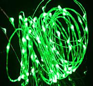 Недорогие -медный провод zdm 5m водоустойчивый свет шнура водить 50 водить для украшения партии празднества празднества с переходникой силы 12v / 1a к ac