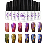 cheap -Nail Polish UV Gel  7ml 1 Glitters Classic Shimmering Glitter & Sparkle Light Neutral Soak off Long Lasting  Daily Glitters Classic