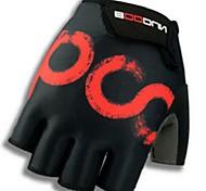 Недорогие -BOODUN/SIDEBIKE® Спортивные перчатки Перчатки для велосипедистов Пригодно для носки Дышащий Износостойкий Защитный Без пальцев Лайкра