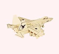 Пазлы Деревянные пазлы Строительные блоки DIY игрушки Боец 1 Дерево Со стразами Модели и конструкторы