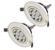 Z®ZDM 2PCS 7W 750-850LM High power Dimmable LED Panel Lights  Warm White Cool White Natural White AC110AC220VAC12V