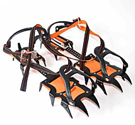 Crampons Hiking Camping Outdoor Anti-skidding Metal Nylon 2 pcs