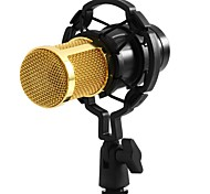 New BM-800 Pink Condenser Microphone Sound Recording Microfone With Shock Mount Radio Braodcasting Microphone