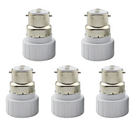 Lamp Base B22 to GU10 Adapter Converter Socket for Lamp Lights Bulb (5 Pieces)