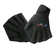 Недорогие -Акваперчатки Дайвинг Перчатки Спортивные перчатки Нейлон Без пальцев Омар-коготь перчатки Сохраняет тепло Быстровысыхающий Анатомический