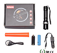 U'King LED Flashlights / Torch LED 2000 lm 3 Mode Adjustable Focus Zoomable Dimmable for Camping/Hiking/Caving Everyday Use Outdoor 1 x