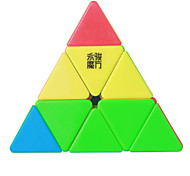 cheap -Rubik's Cube YongJun MoYu Pyramid 3*3*3 Smooth Speed Cube Magic Cube Puzzle Cube Professional Level Smooth Colorful New Year Children's