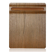 SAMDI Soft Wooden Mouse Pad Mat Multi-functional with Pen Holder Ultra Smooth Surface for Mouse With Solid Wood Pen Holder Walnut