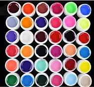 cheap -Nail Polish UV Gel  0.008 36 UV Color Gel UV Builder Gel Classic Soak off Long Lasting  Daily UV Color Gel UV Builder Gel Classic High