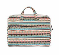 "Handbag for Macbook 13"" Macbook Air 11""/13"" Macbook Pro 13""/15"" MacBook Pro 13""/15"" with Retina display Stripes Textile Material Simple Stylish"