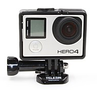 TELESIN 2 in1 Standard +Extended Frame Mount For Gopro Hero4/3/3+
