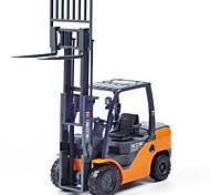 Недорогие -KDW Игрушечные машинки Игрушки Строительная техника Автопогрузчик Игрушки Выдвижной Автомобиль Автопогрузчик пластик Металл ABS Высокое