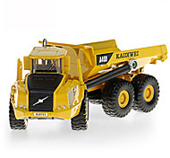 cheap -KDW Dump Truck Toy Truck Construction Vehicle Toy Car Retractable Metalic Plastic ABS 1pcs Boys' Kid's Toy Gift
