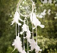 Недорогие -1шт новейший ручной мечта ловец сетка с перьями висит декора судов подарок перезвоны ветра